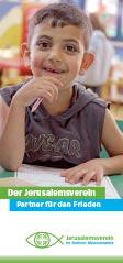 Flyer: Jerusalemsverein im Berliner Missionswerk - Partner für den Frieden