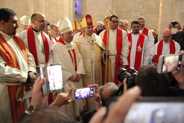 Ring für neuen Bischof in Jerusalem