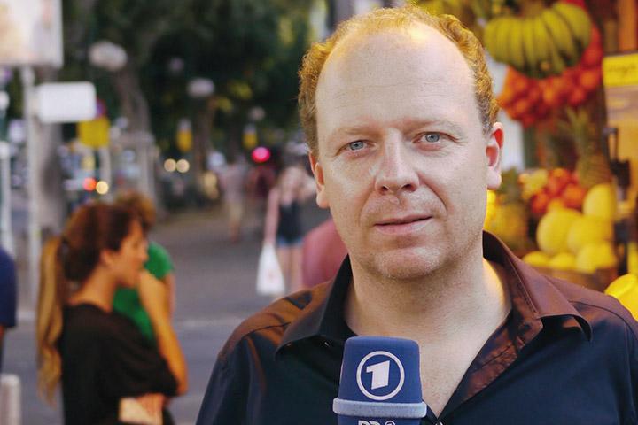 """Vortrag: """"Beste Freunde"""" - Sebastian Engelbrecht über Israel und die Israelis"""