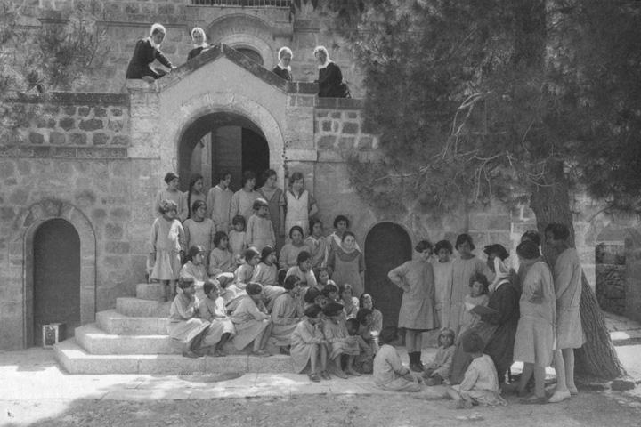 Historisches Foto: Schule Thalita Kumi