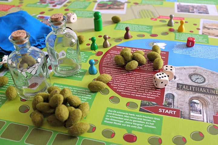 Unser Spiel zur Olivenernte