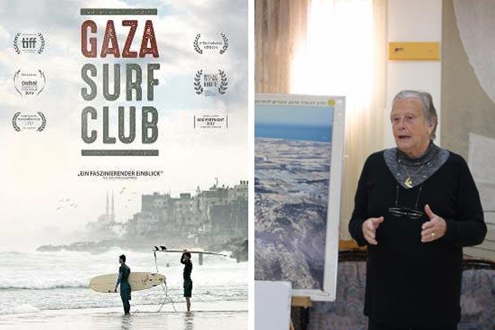 """Filmabend """"Gaza Surf Club"""" und Vortrag """"Gelebte Realität am Gaza-Streifen"""" am 19.11.18 in Berlin"""