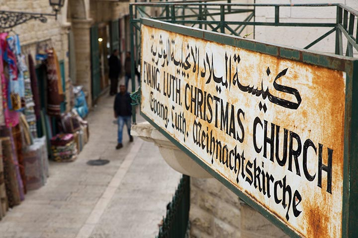 Evangelische Gemeinde in Bethlehem, Weihnachtskirche