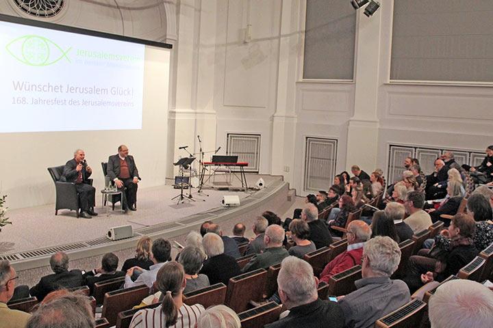Jahresfest 2020 Christen Jerusalem Azar Nieper