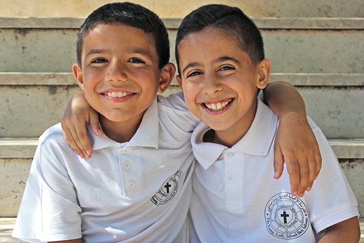 Schüler Evangelisch-Lutherische Schule Beit Sahour