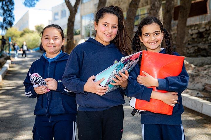 Patenschaften zu Schulkindern in Palästina