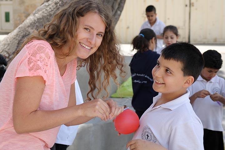 Volontariat Freiwilligendienst Palästina
