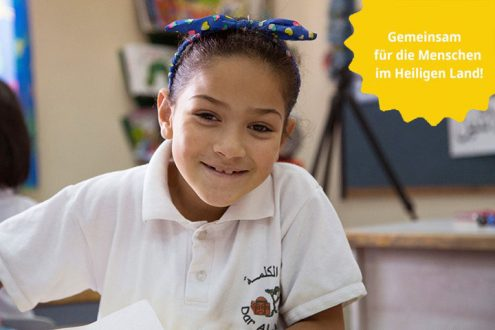 Ostern: Spenden für evangelische Schulen in Palästina