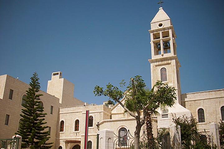 Beit Jala: Reformationskirche und Abrahams Herberge