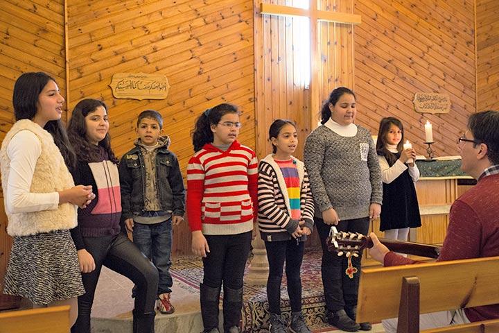 Evangelisch-lutherische Kirche in Beit Sahour, Palästina