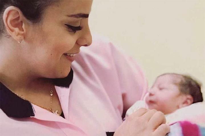 Geburten und Kinder in Israel und Palästina