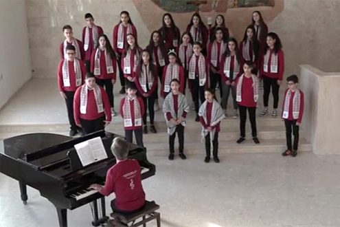 Musikvideo des Talitha Kumi Kinderchores: Die Schönheit der Welt