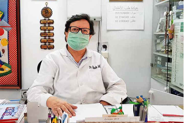 Über die Ausbreitung der Corona-Pandemie in Palästina berichtet die in Beit Jala niedergelassene Kinderärztin Ghada Asfour.