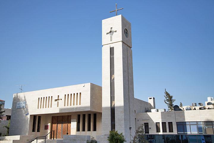 Evangelisch-lutherische Kirche in Amman, Jordanien