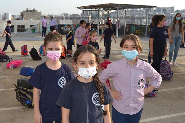 """Evangelische Schule Ramallah: """"Normaler"""" Unterricht trotz Corona"""
